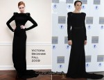 """The Laurence Olivier Awards"" - Melanie Chisholm In Victoria Beckham Collection"