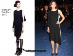 """Nanny McPhee And The Big Bang"" London Premiere - Maggie Gyllenhaal In Vionnet"