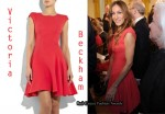 In Sarah Jessica Parker's Closet - Victoria Beckham Red Dress