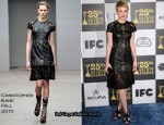 Runway To 2010 Film Independent Spirit Awards – Carey Mulligan In Christopher Kane
