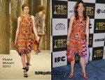 Runway To 2010 Film Independent Spirit Awards - Dana Delany In Prada