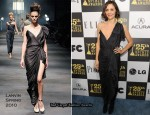 Runway To 2010 Film Independent Spirit Awards – Maggie Gyllenhaal In Lanvin