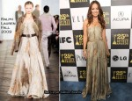 Runway To Film Independent Spirit Awards - Olivia Wilde In Ralph Lauren