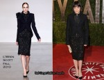 Runway To 2010 Vanity Fair Oscar Party - Selma Blair In L'Wren Scott