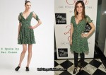 In Rachel Bilson's Closet - Z Spoke by Zac Posen Polka Dot Flared Dress