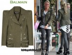 Guess Who Dropped £3,000 On Another Balmain Jacket?