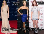 Best Dressed Of The Week - Gwyneth Paltrow In Elie Saab Couture, Reese Witherspoon In Jason Wu & Leighton Meester In Herve Leger