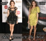 Best Dressed Of The Week - Sarah Jessica Parker In Marchesa & Lanvin
