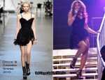 Runway To Alicia Keys' Madison Square Garden Concert - Beyonce Knowles In Dolce & Gabbana