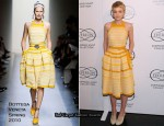 Runway To Red Carpet - Carey Mulligan In Bottega Veneta & Gianfranco Ferre
