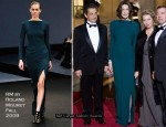 Runway To State Dinner At Elysee Palace - Carla Bruni-Sarkozy In RM by Roland Mouret