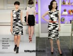 """The Today Show"" - Catherine Zeta Jones In Oscar de la Renta"