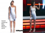 Runway To Danish X Factor - Cheryl Cole In Hervé Léger by Max Azria