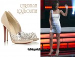 In Cheryl Cole's Closet - Christian Louboutin Engin 120 Studded Pumps