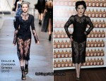 Runway To Cointreaupolitan Cocktail Party - Dita von Teese In Dolce & Gabbana