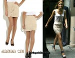 In Emma Watson's Closet - Jason Wu Pleat-Knot Skirt