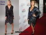 In Eva Mendes' Closet - Chris Benz Embellished Dress
