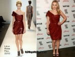 "Runway To ""Artists For Peace And Justice"" - Kristen Bell In Lela Rose"