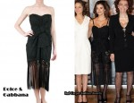 In Penelope Cruz' Closet - Dolce & Gabbana Fringed Dress