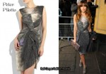 In Rachel Stevens' Closet - Peter Pilotto Aks Printed Silk Dress