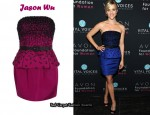 In Reese Witherspoon's Closet - Jason Wu Blue Embellished Dress