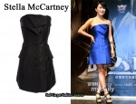 In Uhm Jung Hwa's Closet - Stella McCartney Strapless Tuxedo Dress