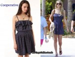 In Taylor Swift's Closet - Cooperative Strappy 70s Dress