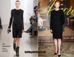 """Io Sono L'Amore"" Milan Screening - Tilda Swinton In Jil Sander"