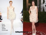 Runway To 2010 Vanity Fair Oscar Party - Anna Kendrick In Elie Saab Couture