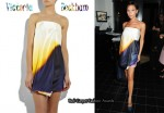 In Victoria Beckham's Closet - Victoria Beckham Airbrush Dress