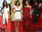 Which Was Zoe Saldana's Best Red Carpet Awards Season Moment?