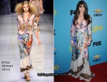 'Glee' Spring Premiere Soiree - Lea Michele In Etro