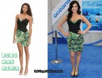 In Demi Lovato's Closet - BCBG Max Azria Splatter Paint Dress