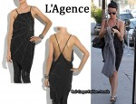 In Katy Perry's Closet - L'Agence Silk Spiderweb Tunic
