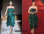 2010 Hong Kong Film Awards – Miriam Yeung In YSL & Versace