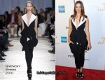 """""""Please Give"""" New York Premiere - Rebecca Hall In Givenchy"""