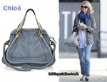 In January Jones' Closet - Chloé Paraty Python Bag