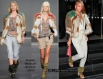Runway To Katsuya Restaurant - Cassie In Isabel Marant
