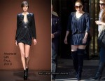 Runway To Sidewalk - Jennifer Lopez In Andrew GN