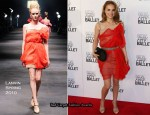 2010 New York City Ballet Spring Gala - Natalie Portman In Lanvin