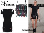 In Chloe Sevigny's Closet - Versus Mini Safety Pin Dress & Versus Safety Pin Shoulder Bag