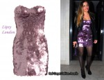 In Elen Rivas' Closet - Lipsy London Bandeau Disc Dress