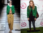 Otarian Restaurant Grand Opening - Mary-Kate Olsen In Dries Van Noten