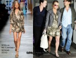 Runway To LAX - Jessica Simpson In Stella McCartney