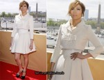 """The Back-Up Plan"" Paris Photocall - Jennifer Lopez In Paule Ka"