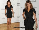 2010 Tribeca Ball - Helena Christensen In Miu Miu