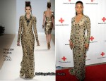 """Red Cross Red Tie Fundraising Gala"" - Jada Pinkett-Smith In Naeem Khan"