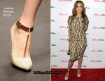 """The Back-Up Plan"" Miami Screening - Jennifer Lopez In Monique Lhuillier & Lanvin"