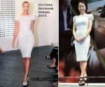 """The Housemaid"" Press Conference - Jeon Do Yeon In Victoria Beckham"
