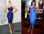 """Date Night"" New York Premiere - Taraji P. Henson In Victoria Beckham Collection"